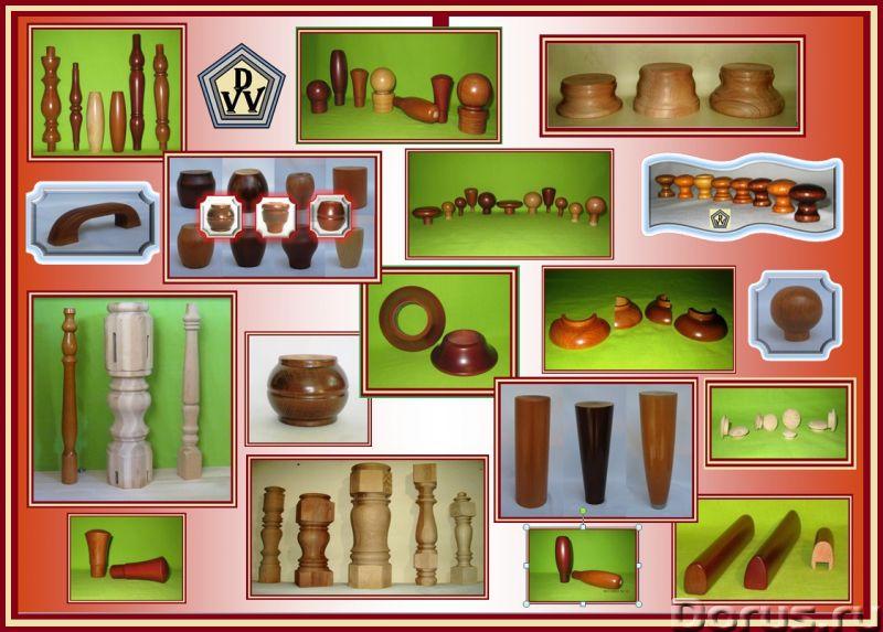 Производство мебельных деталей и фурнитуры из массива твердолиственных пород дерева - Мебель для дом..., фото 2